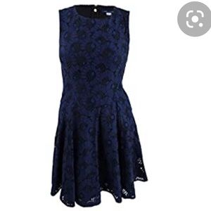 NWT Tommy Hilfiger Lace Fit and Flare Dress 2